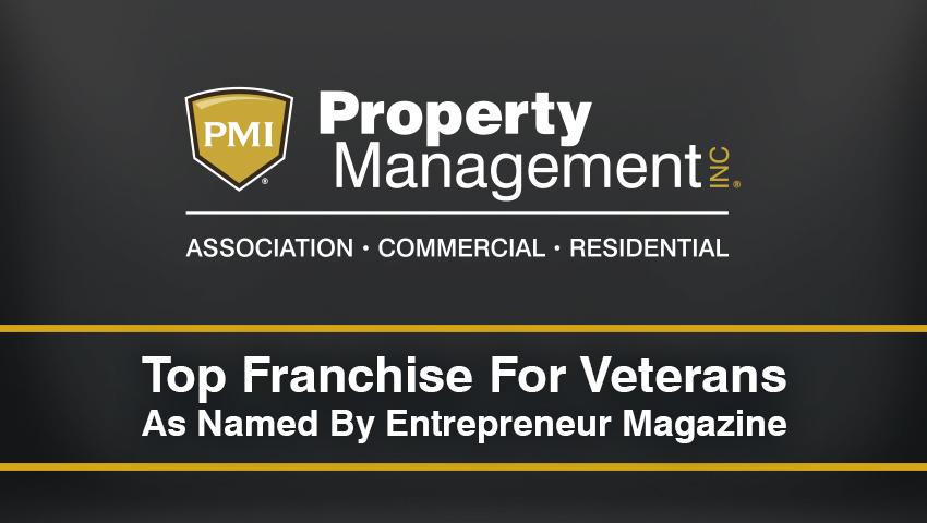 Entrepreneur Magazine Names Property Management Inc. as a Top Franchise for Veterans