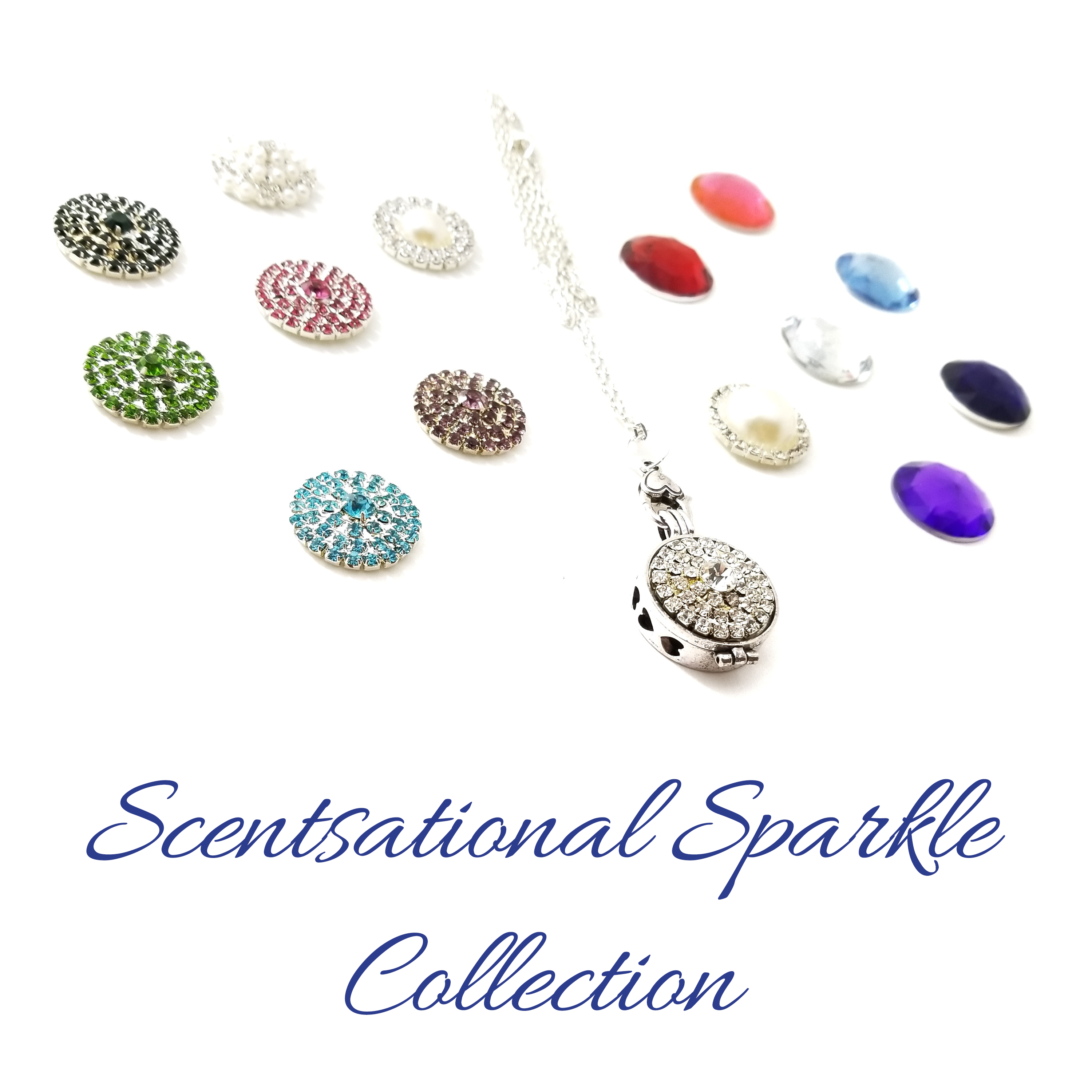 New aromatherapy necklaces featuring beautiful interchangeable rhinestone baubles expected to sell out