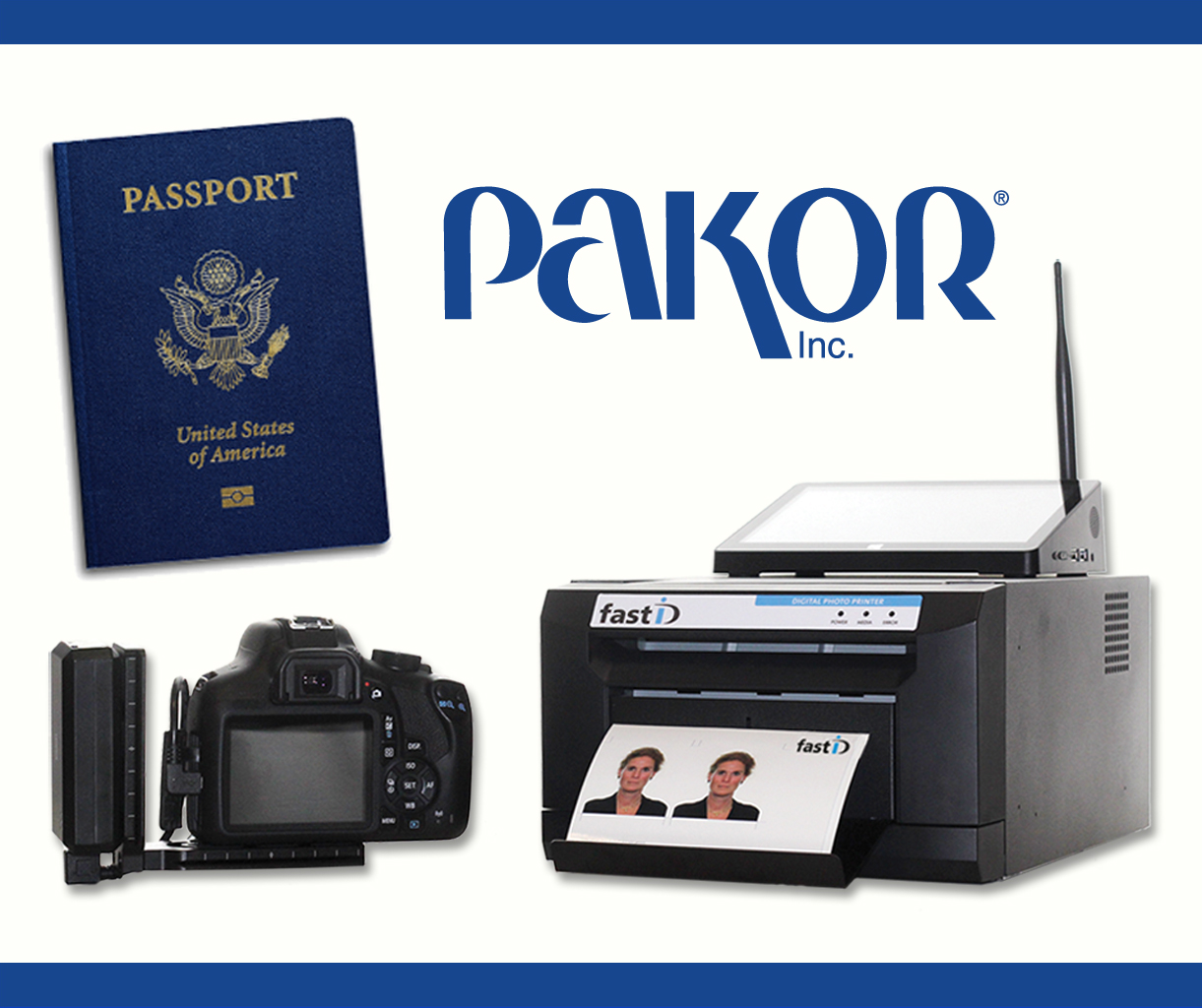 Latest in Passport Photography Revealed by Pakor, Inc.
