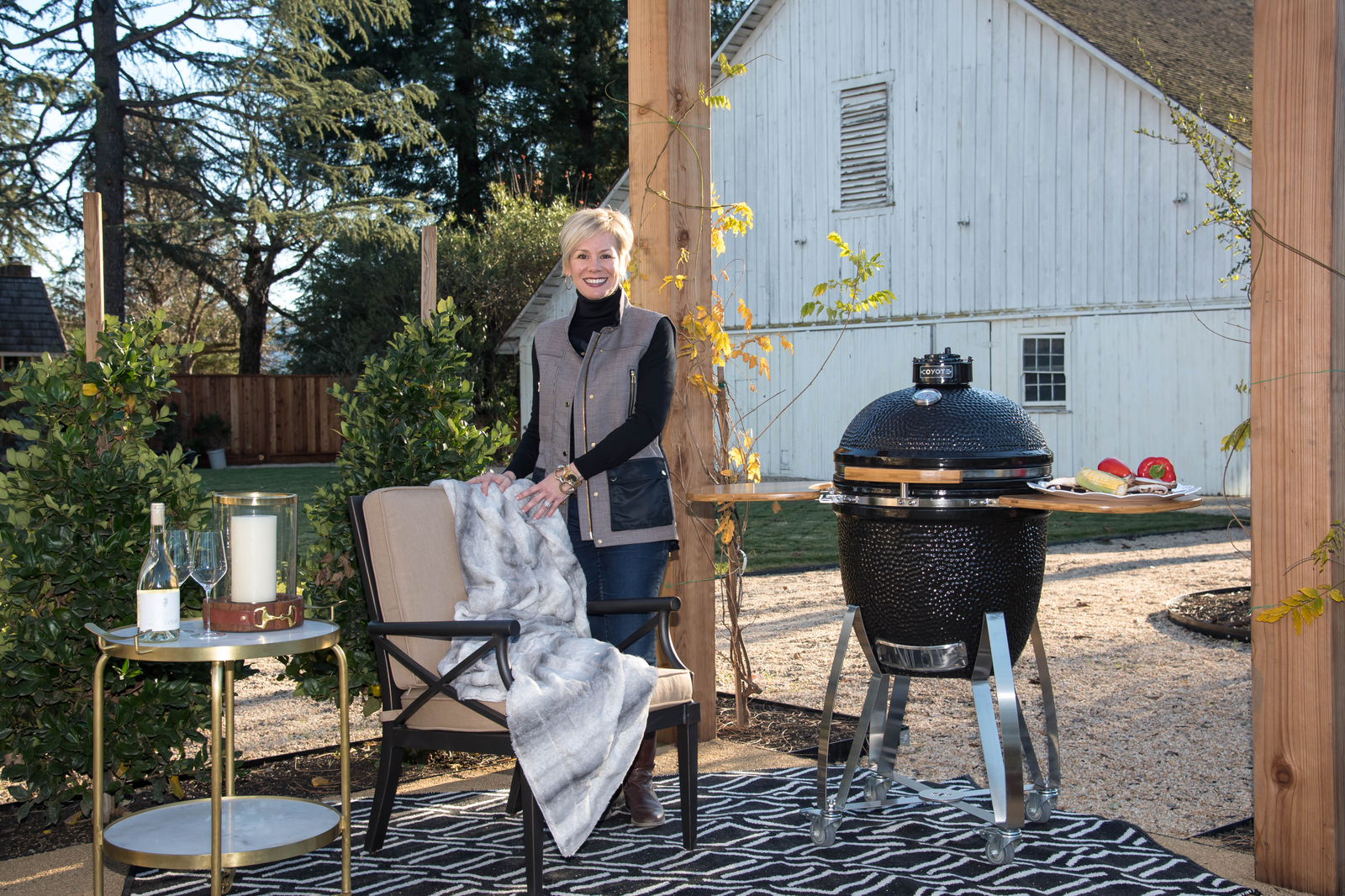 Award-winning designer Kerrie Kelly shares 10 Top Tips for designing the ultimate outdoor living space.