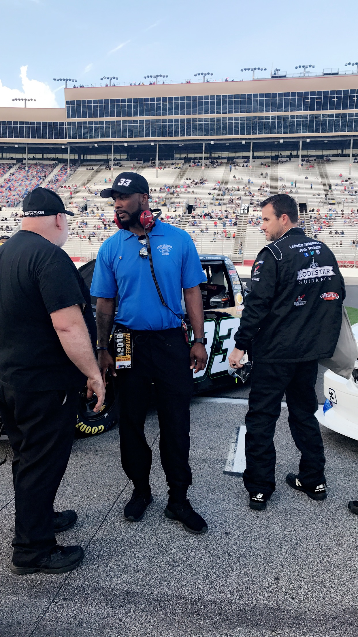 Julius Curry Acquires Ownership of No. 33 Truck in NASCAR Camping World Truck Series