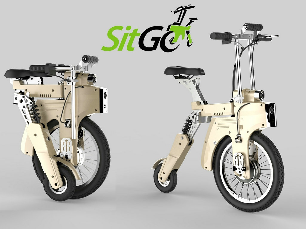 SITGO Releases Super Early Bird Discount for Purchasing World's Best Electric Folding Bike On Kickstarter