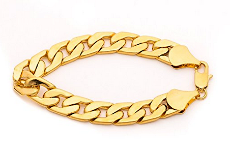 rose mens ct thick bracelet gold inches diamond link