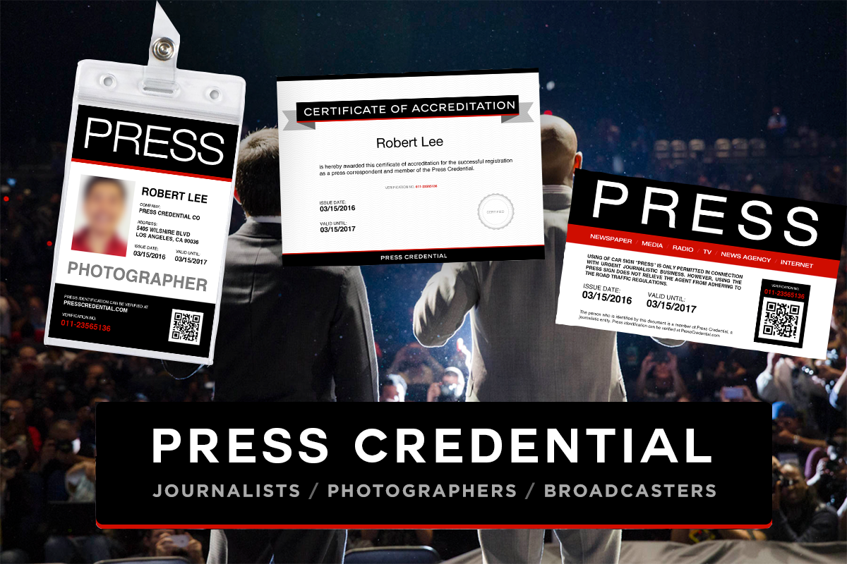PressCredential: Free Press Pass Template Offers Variety of Benefits