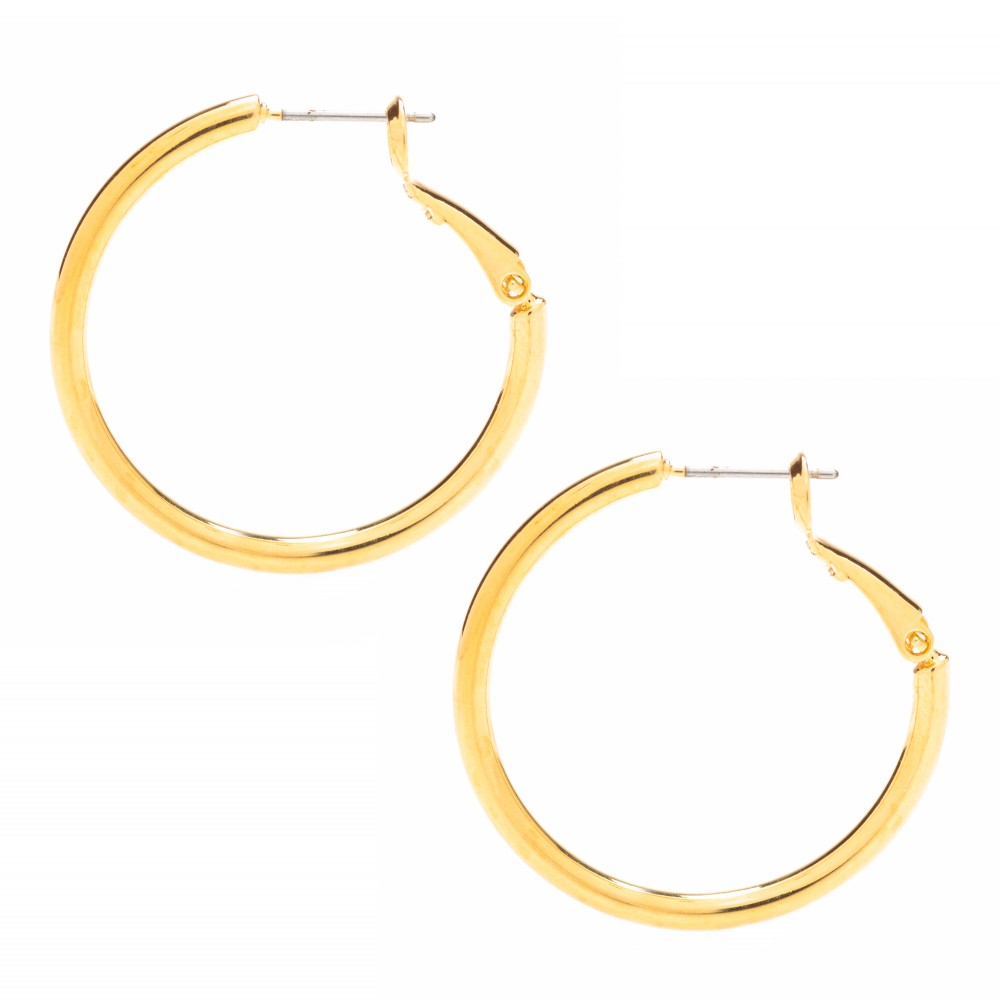 hoop earrings for sale consumers clamor for lifetime jewelry s 174 gold hoop earring 5607