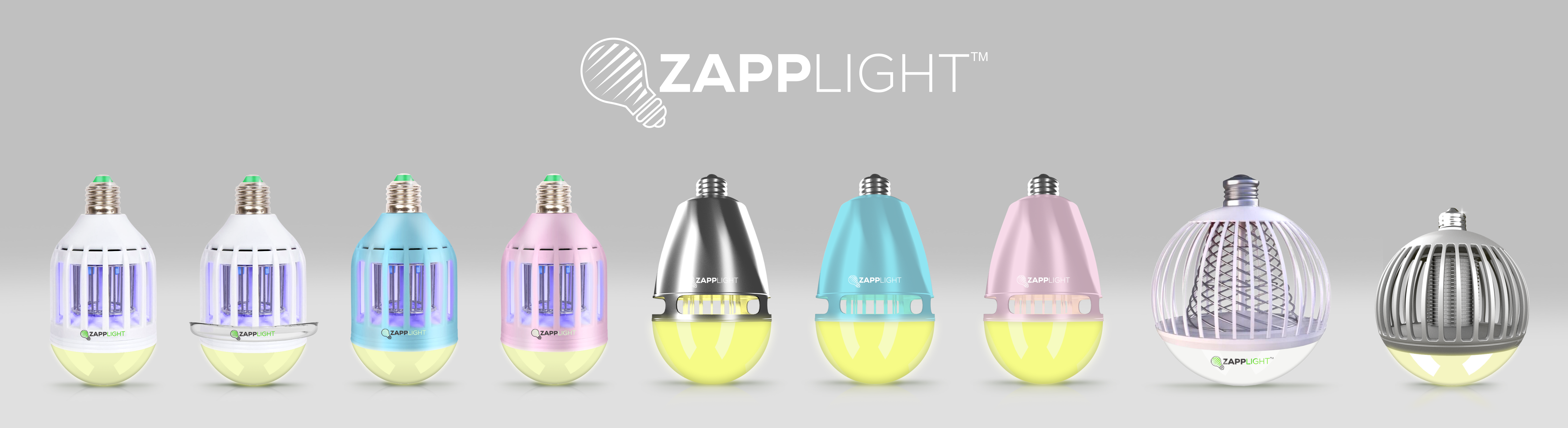 ZappLight Introduces World\'s 1st 2-in-1 LED Bug Zapper Light Bulb ...