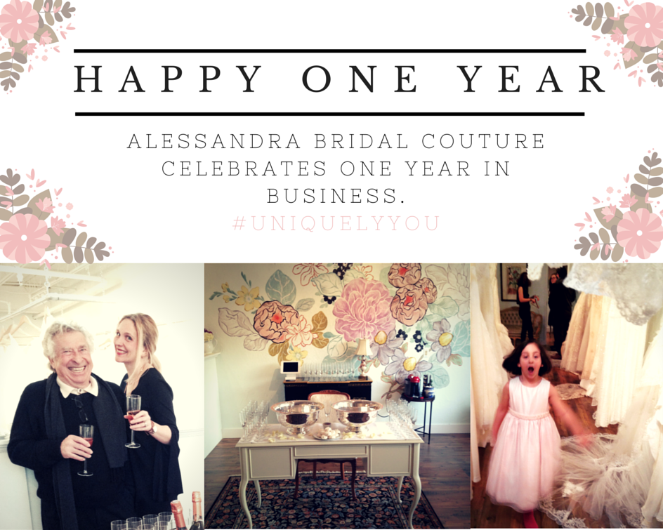 Alessandra Bridal Couture Celebrates One Year at Their Birmingham Location