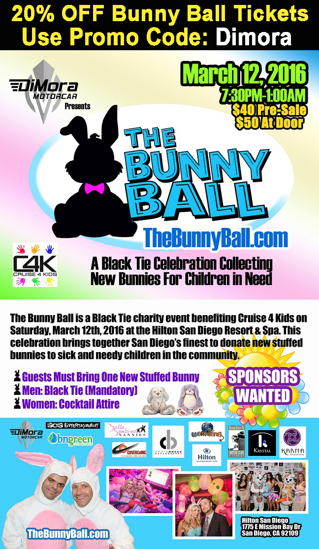 DiMora Motorcar Presents the 2016 Bunny Ball