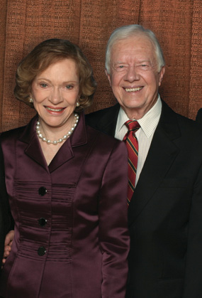 Jimmy and Rosalynn Carter of The Carter Center Receive the Life Time Achievement Award