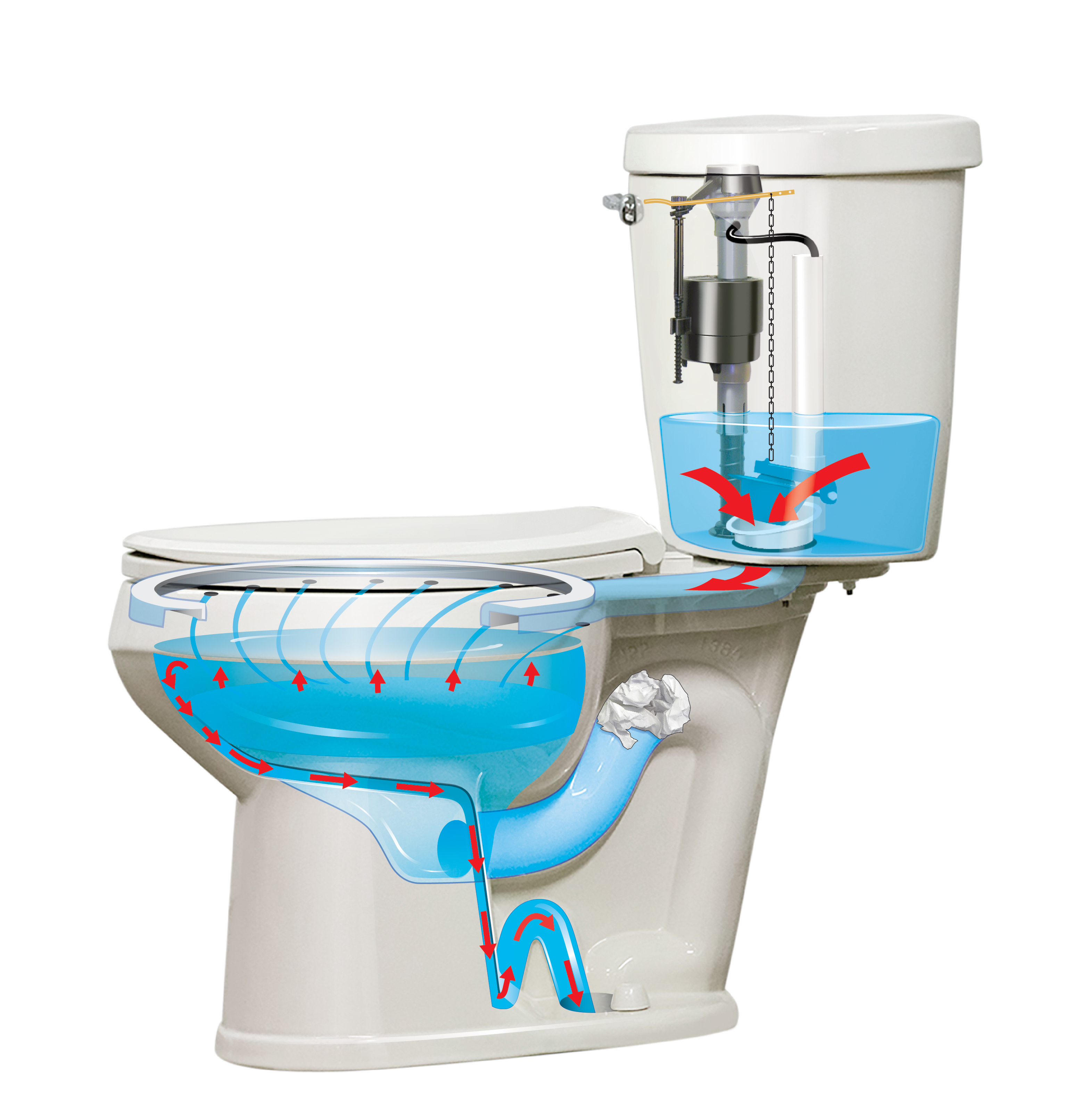 New PROTECTOR® No-Overflow Toilet Introduced by Mansfield Plumbing